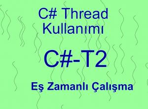 C# Thread Kullanımı #2