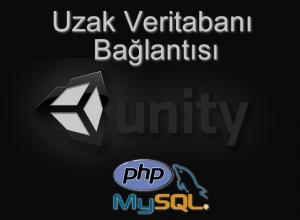 Unity Uzak Veritabanına Erişmek