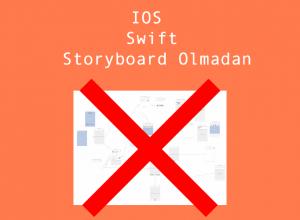Swift Storyboard Olmadan Uygulama Geliştirme